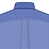 Custom-Tailored-Dress-Shirt-Pleat-Back