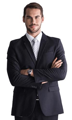 Men's Bespoke Suit Example #1