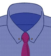 Shirt-Collar-59-Triangle-Points-With-Eyelets